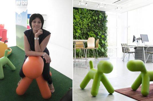 Пластиковое кресло Puppy dog от Magis Design