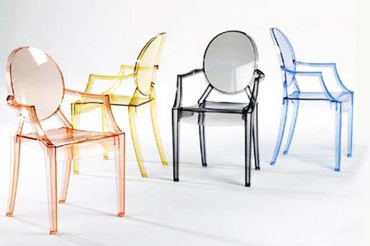 Louis Ghost Chair Филиппа Старка